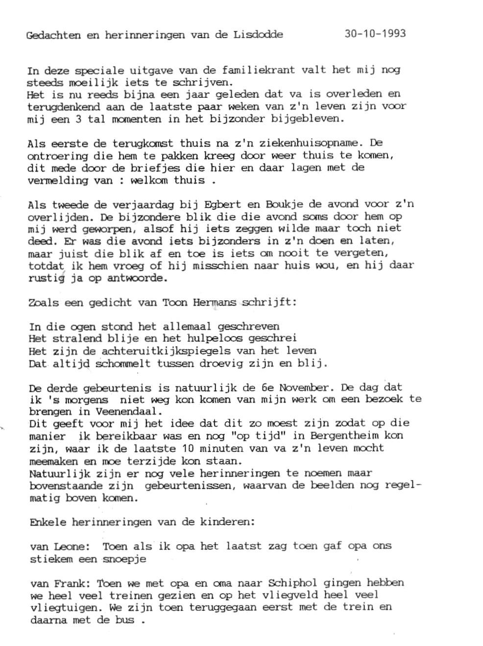Afscheid Ids Wiersma Familie Mulder